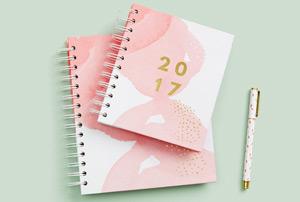 Selection de jolis agendas pour 2017