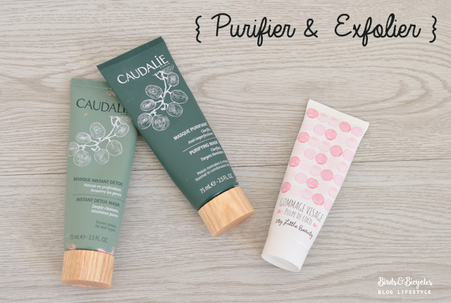 Ma routine beauté: masques à l'argile & exfoliation - Blog lifestyle & beauté Birds & Bicycles