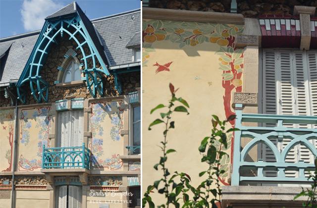 Art nouveau nancy rue Felix Faure