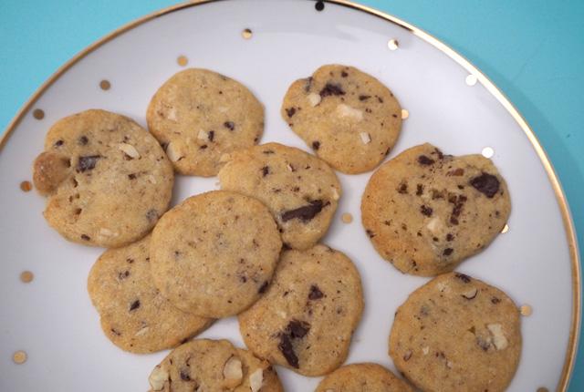 Cookies congelés en rouleau!