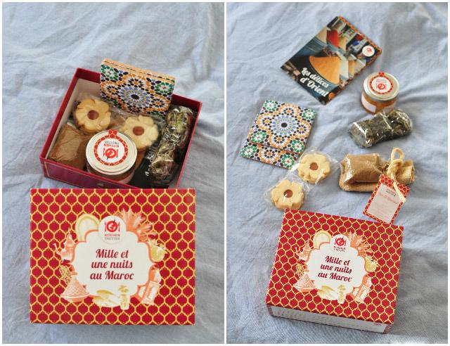 Déballage de Mille et une nuits, le kit marocain de la box cuisine Kitchentrotter