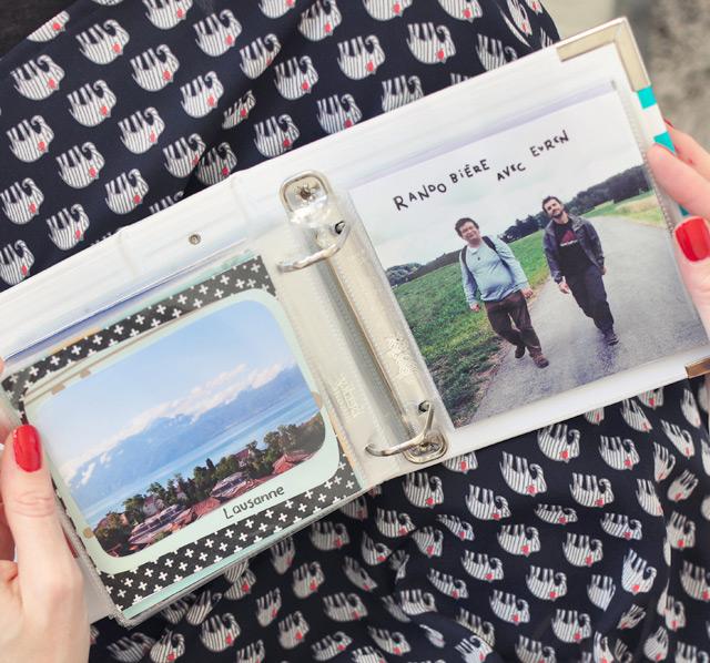 Documenter son quotidien en photos avec le Project Life entre scrap et album photo
