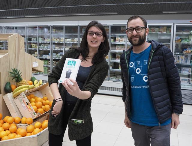 Camille et Simon de Zero Waste STrasbourg