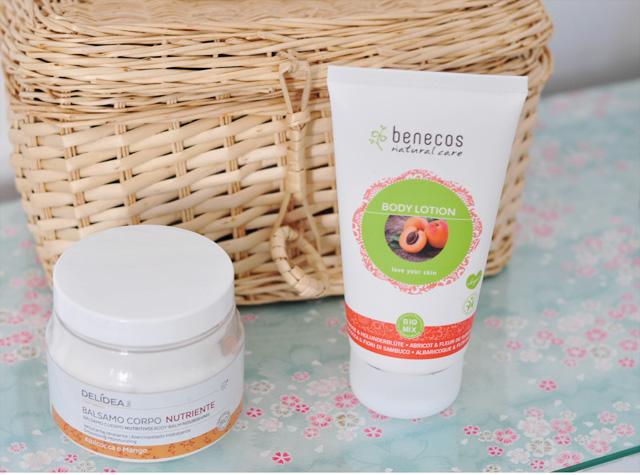 Crèmes bio pour le corps à l'odeur de fruit