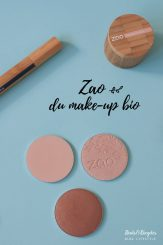Test & avis maquillage bio Zao Make Up
