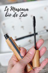 Mascara bio de Zao Make Up test et avis