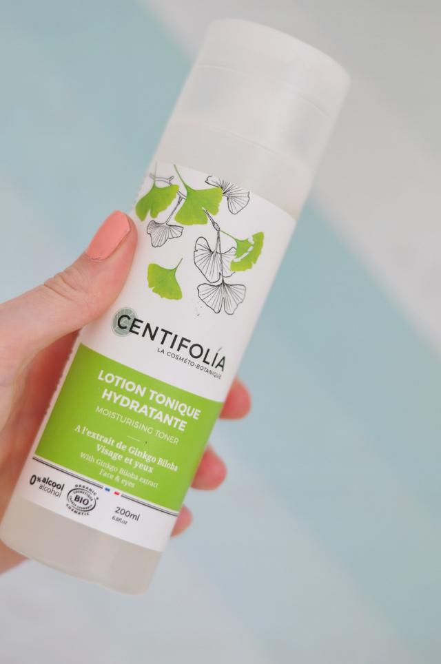 Lotion de Centifolia avis sur le blog!