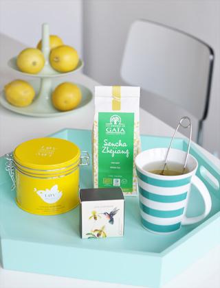 Mes thés verts préférés du matin - Blog Birds & Bicycles
