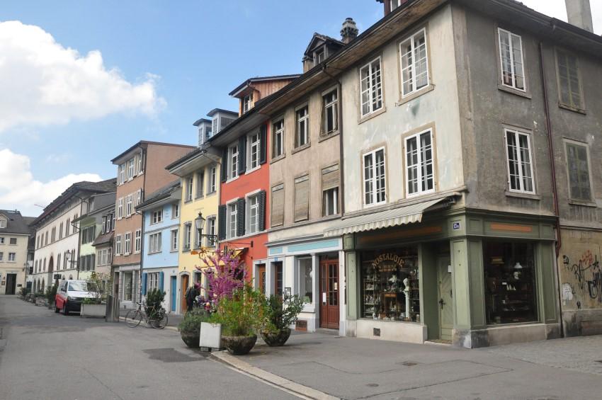 Escapade en Suisse en avril