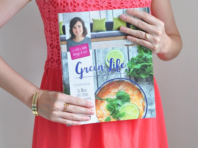 """""""Green Life"""", le livre de Victoria du blog Mango & salt, avec des recettes et plein d'astuces pour un mode de vie plus vert"""