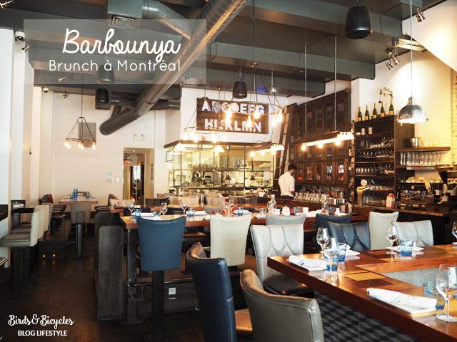 Barbounya: adresse pour bruncher à Montréal