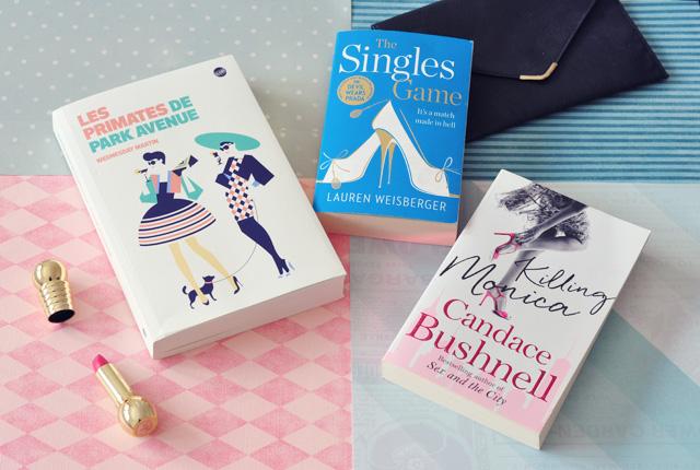 Romans pour l'été: trio spécial chick-litt sur le blog Birds & Bicycles, rubrique livres!