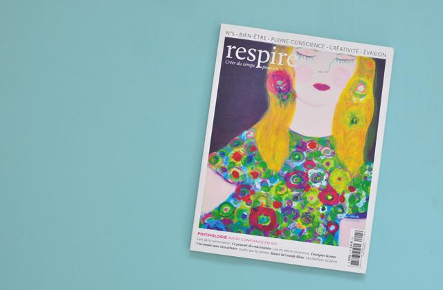 Respire, un nouveau magazine de développement personnel