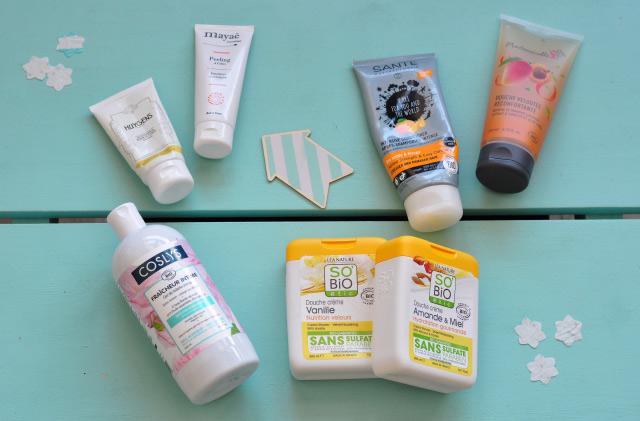 Revue de cosmétiques bio: sous la douche! Blog lifestyle & beauté bio Birds & Bicycles