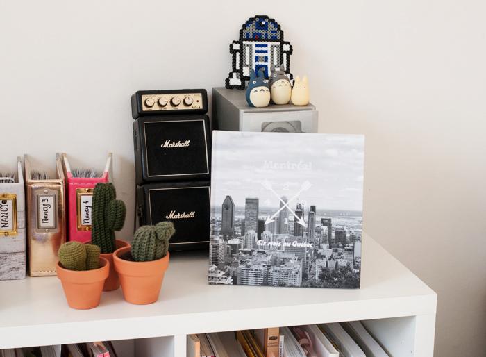Mon livre photo imprimé sur Flexilivre trône dans mon salon