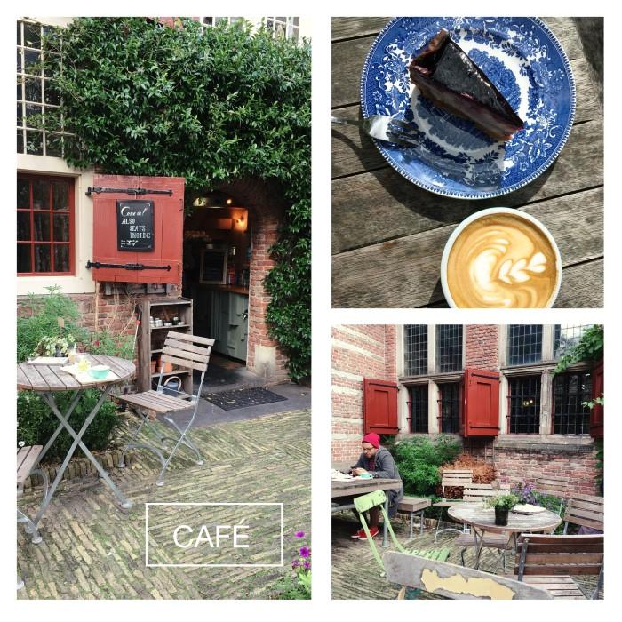 Adresses à Amsterdam: De Koffieschenkerij, un joli café dans le Quartier Rouge