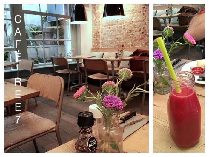 REE7, Café cosy dans les 9 Rues. Mes adresses à Amsterdam.