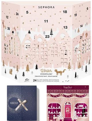 Les calendriers beauté 2017 - ma sélection à moins de 50 € sur le blog!