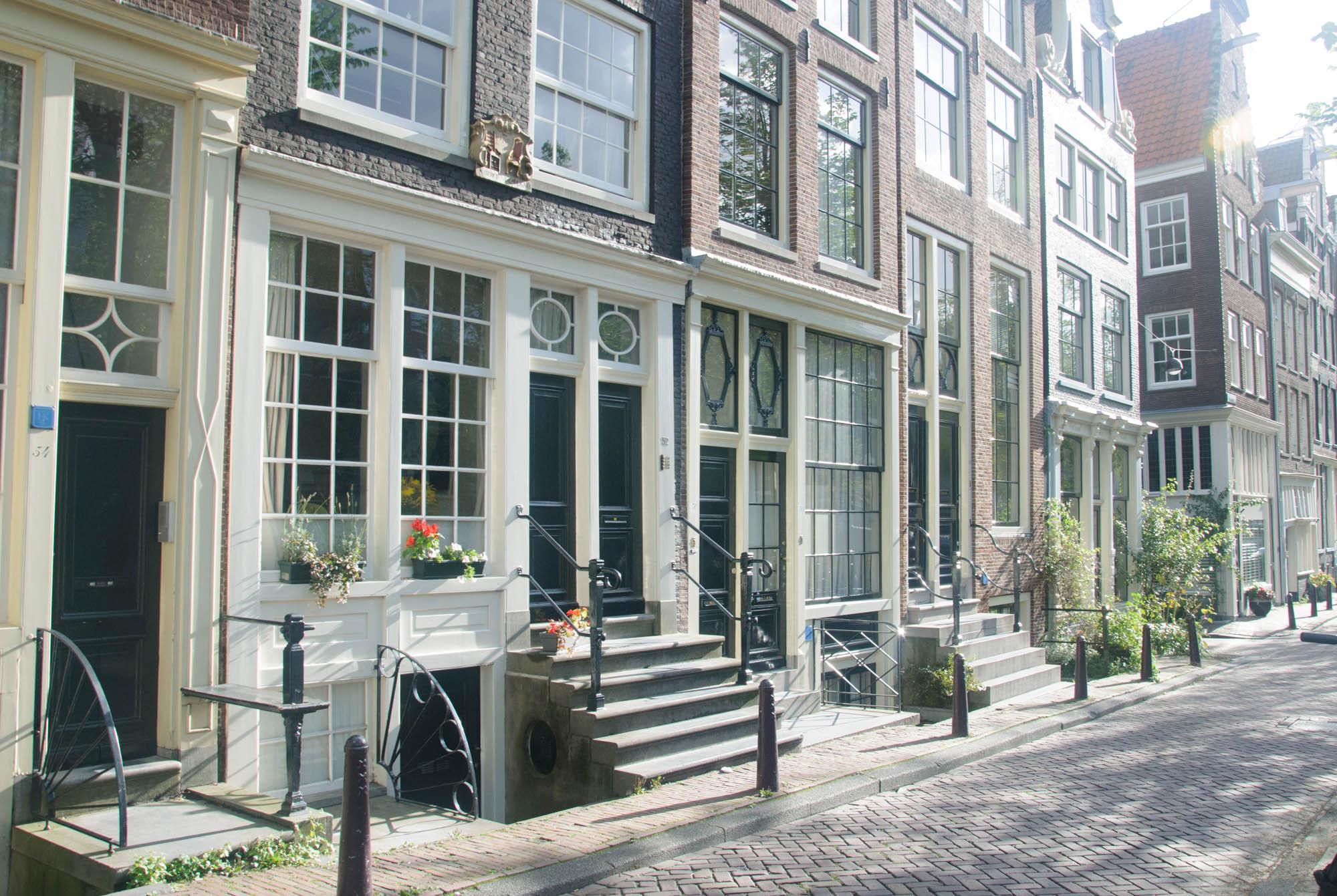 Les belles rues d'Amsterdam... Quelle poésie dans cette ville