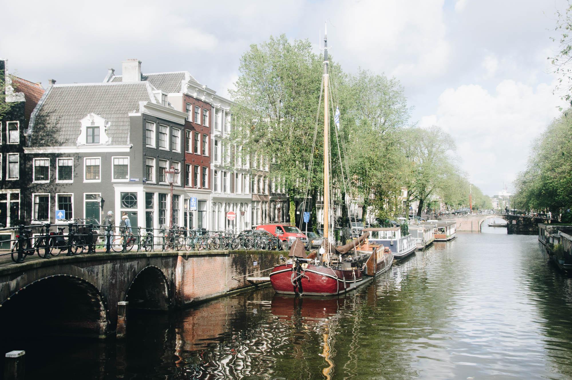 Les canaux d'Amsterdam - Un enchantement!