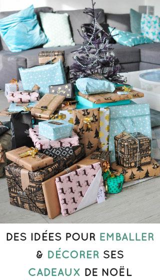 Décorer ses paquets cadeaux pour Noël: mes idées faciles pour de jolis emballages!