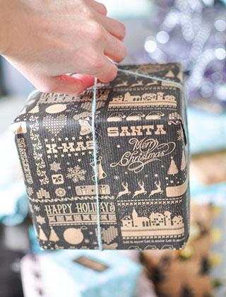 Quelques idées simples pour de jolis emballages cadeaux