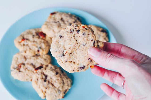 Recette de cookies sans oeufs facile sur le blog Birds & Bicycles