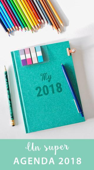 Agenda 2018: un semainier pour s'organiser comme une pro, grâce à des fonctions de Bullet Journal