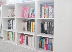 Mes bibliothèques basses pleines de romans