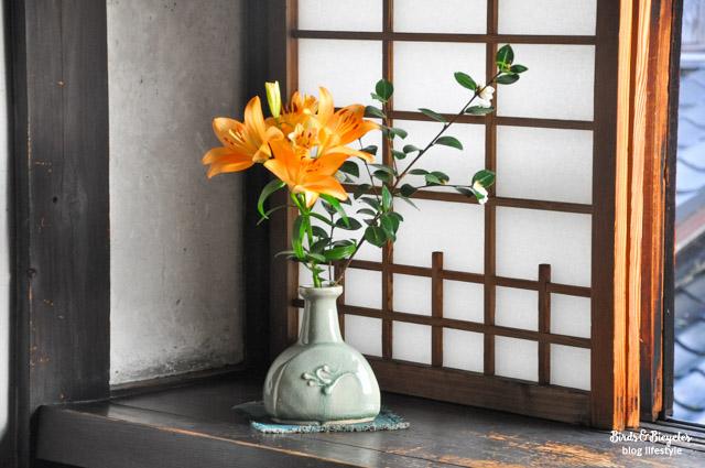 Le décor d'une maison japonaise traditionnelle