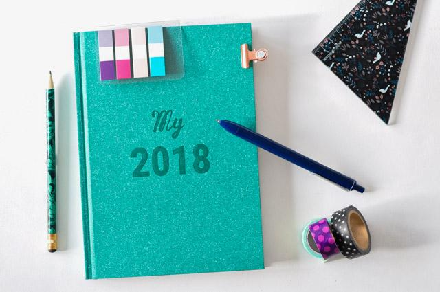 Agenda 2018: Découverte papeterie sur le blog avec My365