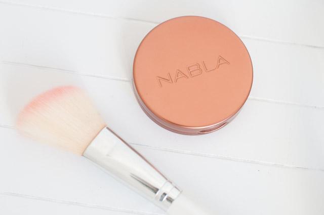 Blush de Nabla: mon avis sur le blog - Un maquillage avec des cosmétiques naturels!