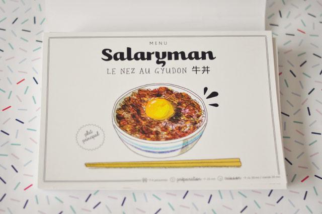 Des recettes japonaises dans un chouette coffret!