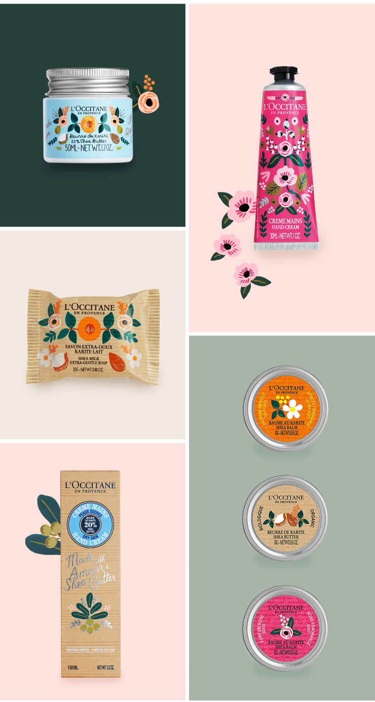 Collaboration: Rifle Paper CO X L'Occitane en Provence