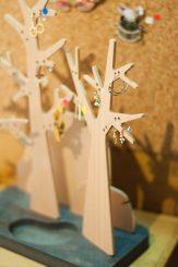 Créateur français: Les arbres à bijoux de Reine Mère au 109 à Nancy