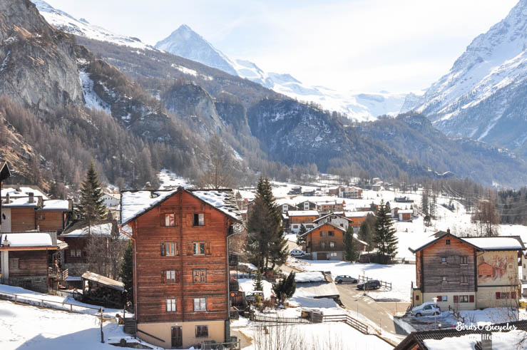 Evolène dans les montagnes suisses - Plus de photos sur le blog Birds & Bicycles