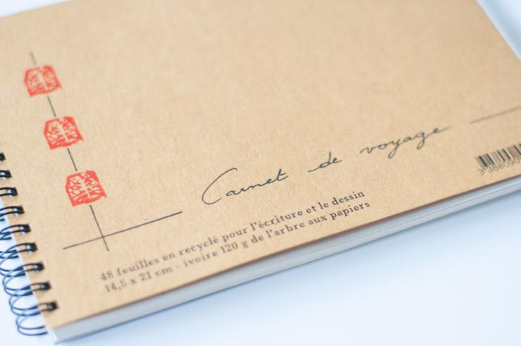 Papeterie - Carnet de voyage fabriqué en France