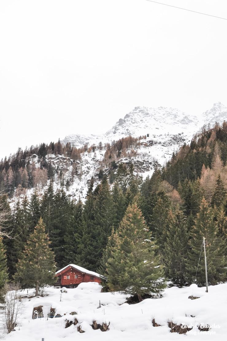 Escapade dans les montagnes en Suisse: le Val des Dix au Val d'Hérens - Sur le blog Birds & Bicycles