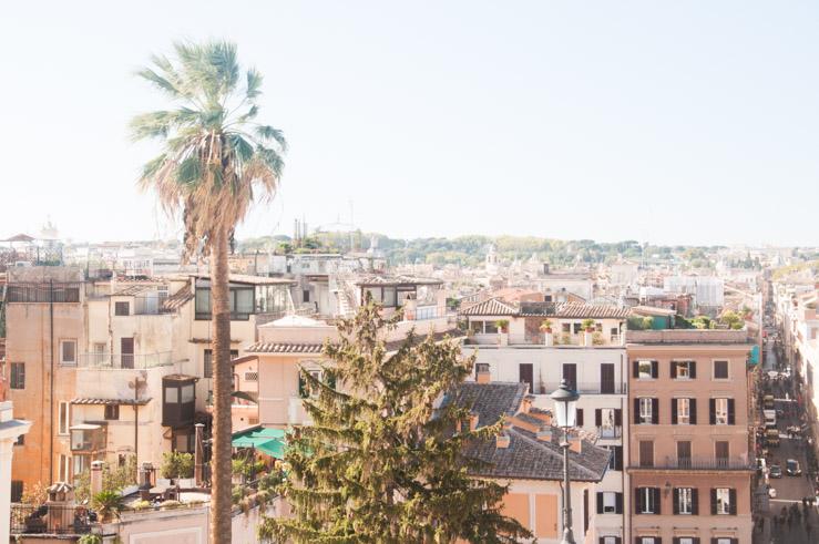 Vue sur Rome! Visiter la ville en 3 jours. Mes bons plans de blogueuse sur Birds & Bicycles