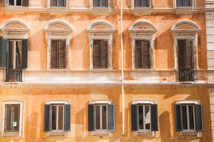 Dans les rues de Rome - voyage en Italie sur le blog