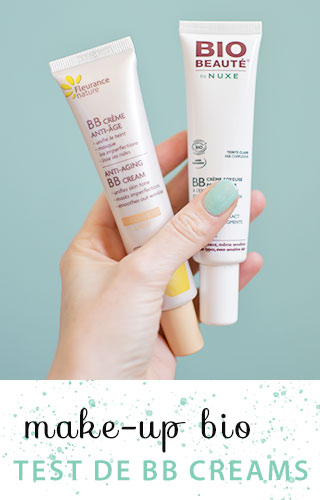 Ma BB cream bio au parfum fruité ! Test & avis de cosmétiques bio sur le blog girly Birds & Bicycles #bio #beautébio