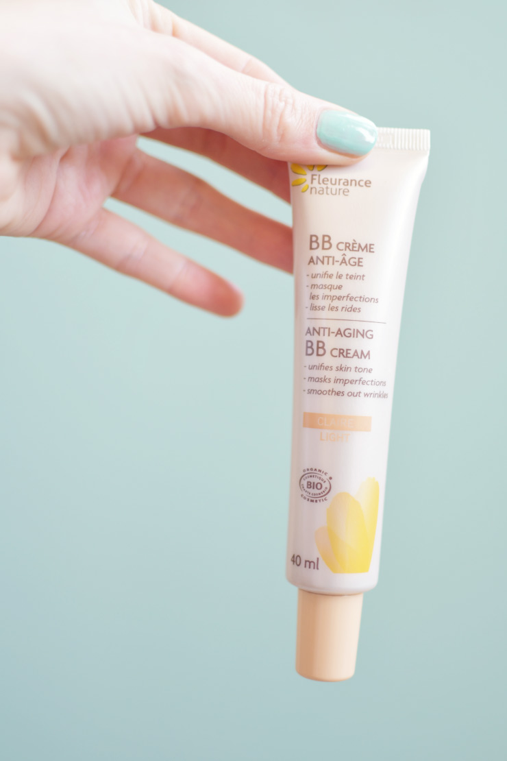 J'ai testé la la BB crème anti-âge bio de Fleurance nature et vous donne mon avis sur cette BB cream bio au parfum d'abricot!
