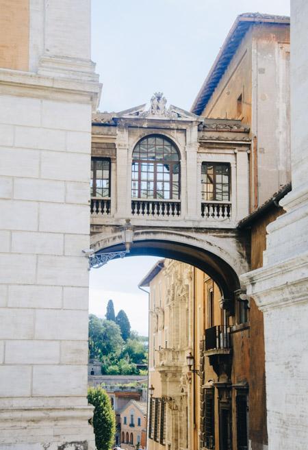 Architecture et patrimoine à Rome, en Italie