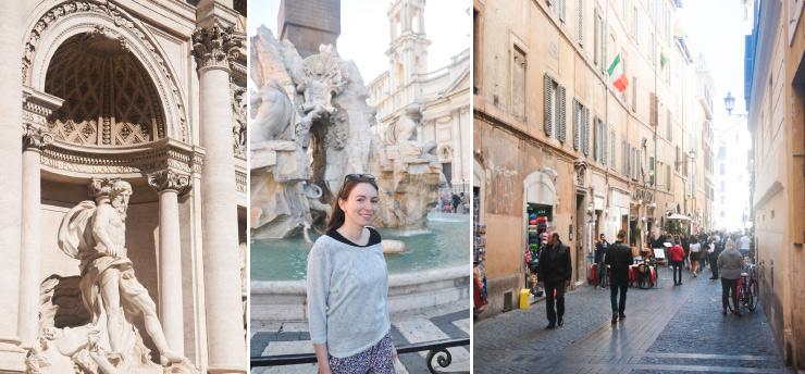 Le Panthéon - Inspiration pour visiter Rome en 3 jours sur le blog voyage & lifestyle Birds & Bicycles