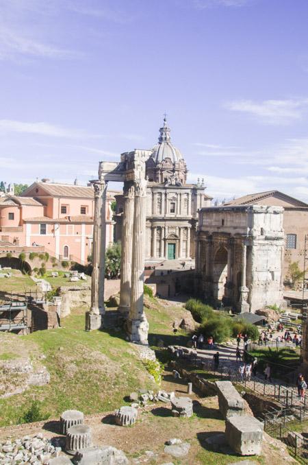 Trois jours à Rome - Idée de programame et carnet de voyage sur Birds & Bicycles