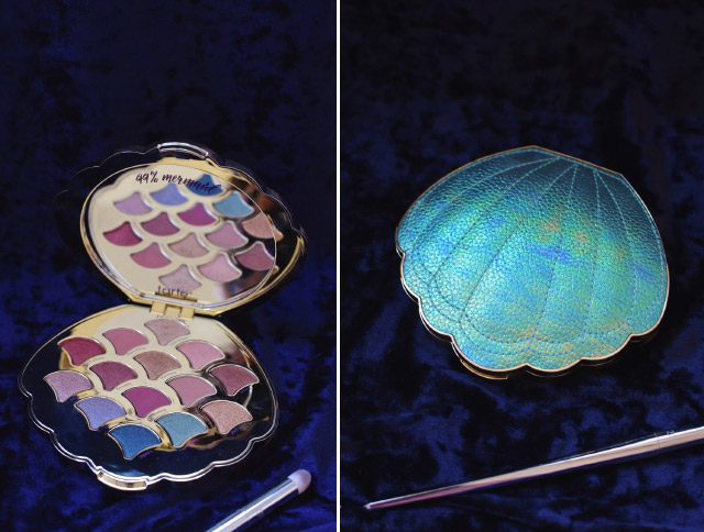 Craquage total pour cette palette de chez Tarte en forme de coquillage et sa gamme de couleurs!