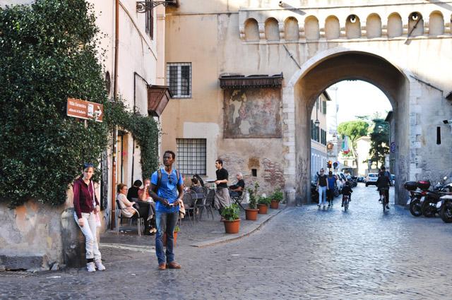 Le joli quartier à voir à Rome: le Trastevere
