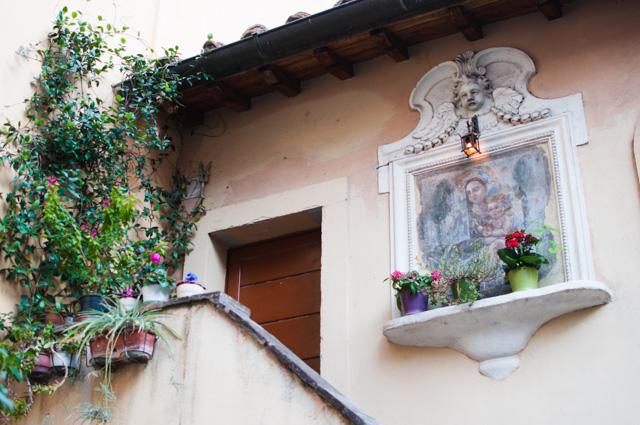 Le bucolique quartier du Trastevere à Rome