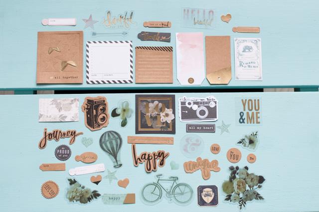 Joli kit- haul de matériel de scrapbooking