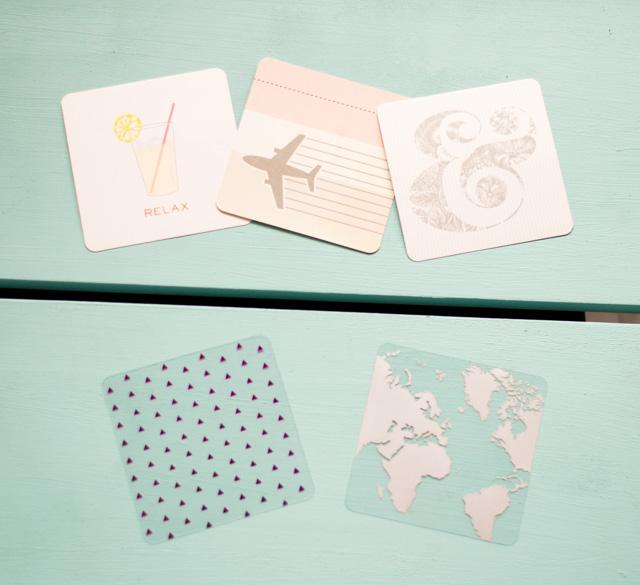 Kit de journaling pour album Project Life carré de We R Memory Keepers - haul de matériel de scrapbooking
